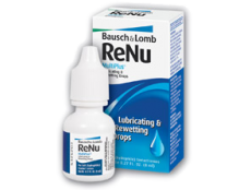 Капли для глаз Renu MultiPlus Lubricanting & Rewetting Drops 8мл
