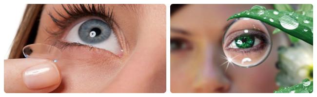 Типичные проблемы при ношении контактных линз
