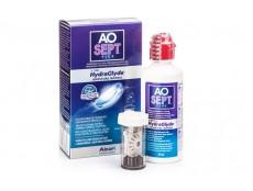 Раствор AOSept Plus HydraGlyde 90мл + контейнер