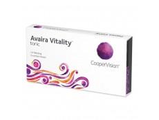 Торические линзы Avaira Vitality toric (6 линз)