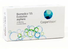 Biomedics 55 Evolution (6 линз)