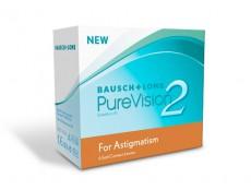 Торические (при астигматизме) Pure Vision 2 HD for Astigmatism (3 линзы)