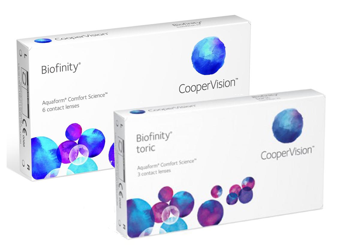 контактные линзы cooper vision