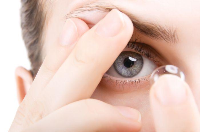 Доставка контактных линз
