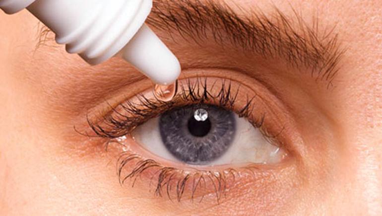 Капли увлажняющие для глаз при ношении линз