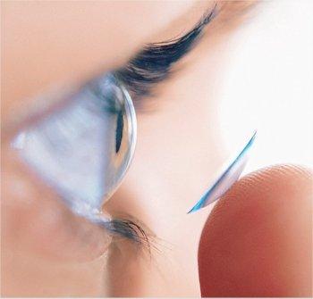 Одноразовые линзы для глаз